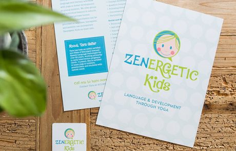 Zenergetic Kids Sample Mailer and Card